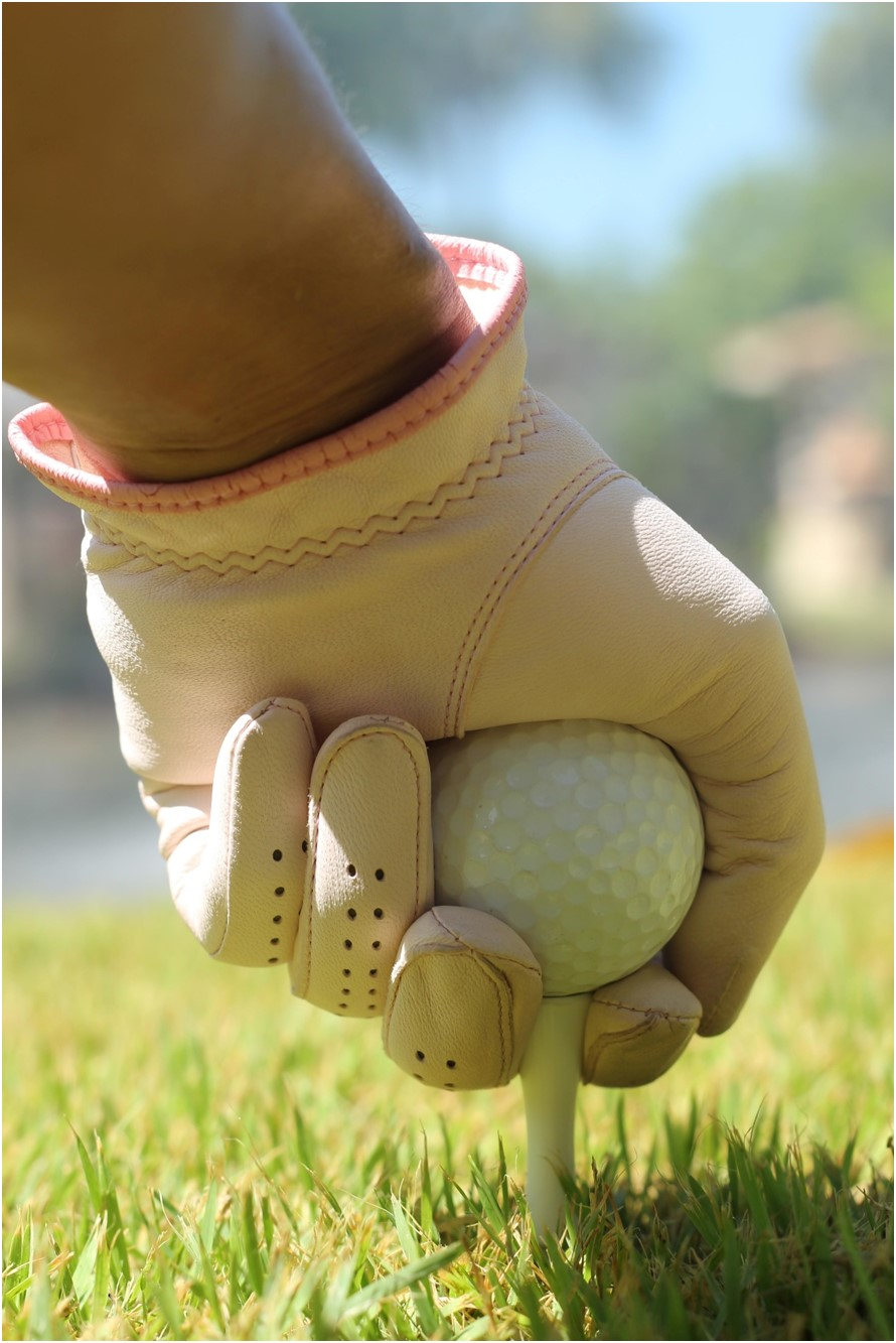 Hand with Golfball