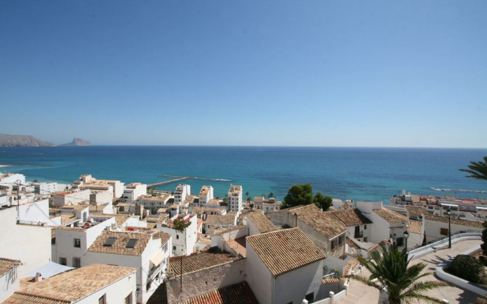 Unique townhouse in Altea Old town for sale