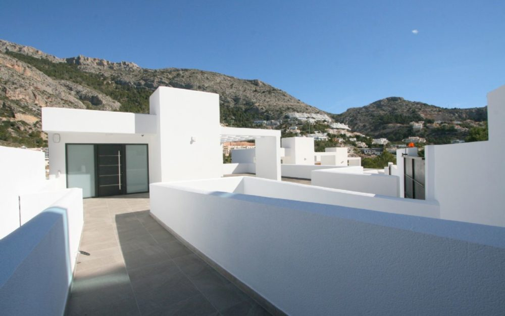 Modern designer villa in Altea for sale