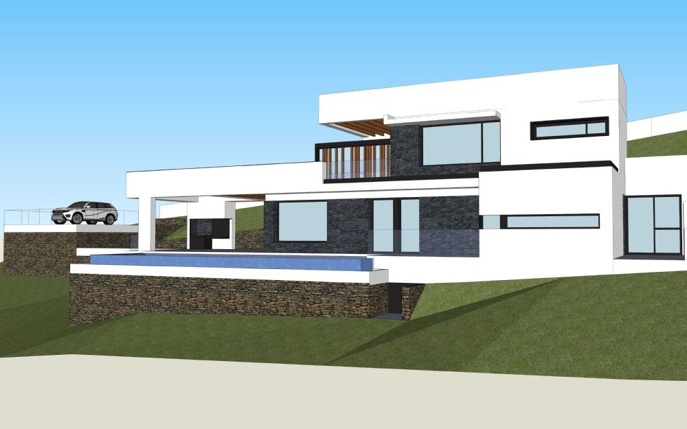 "Designer villa ""off plan"" in Javea"