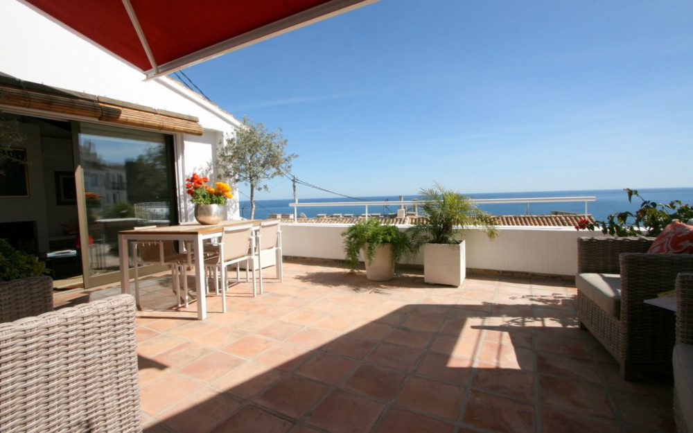 Unique old town house in best location of Altea with sea views