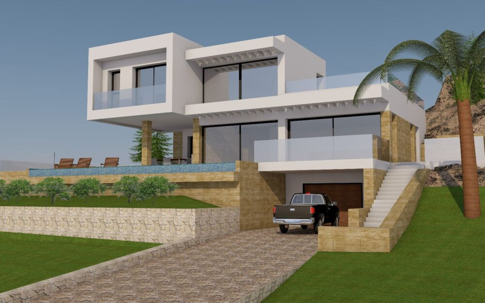 Modern Villa under construction in Alhama Springs – Altea
